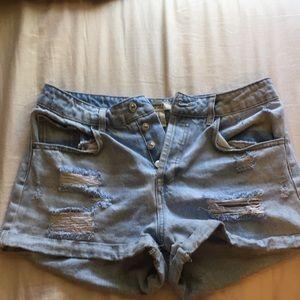High waisted F21 shorts